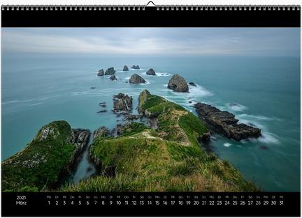 Kalender Color 0003 March